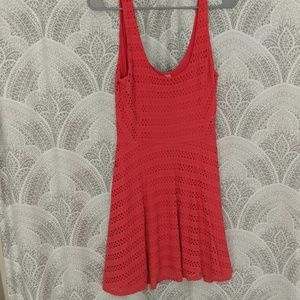 Coral sundress
